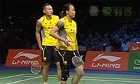 张楠/赵芸蕾VS苏吉特/莎拉丽 2014羽毛球世锦赛 混双1/4决赛视频