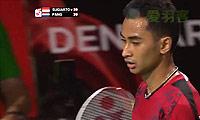 苏吉亚托VS埃里克 2014羽毛球世锦赛 男单1/4决赛视频