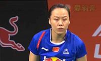 田卿/赵芸蕾VS李绍希/申升瓒 2014羽毛球世锦赛 女双半决赛视频