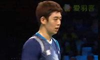 李龙大/柳延星VS李胜木/蔡佳欣 2014羽毛球世锦赛 男双1/4决赛视频
