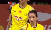 刘成/包宜鑫VS鲁恺/黄雅琼 2014羽毛球世锦赛 混双1/4决赛视频