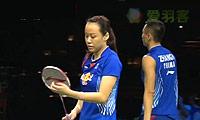 张楠/赵芸蕾VS刘成/包宜鑫 2014羽毛球世锦赛 混双半决赛视频