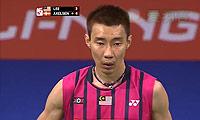 李宗伟VS阿萨尔森 2014羽毛球世锦赛 男单半决赛明仕亚洲官网