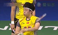 田卿/赵芸蕾VS于洋/王晓理 2014羽毛球世锦赛 女双决赛视频