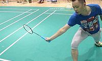 网前挑球动作要领