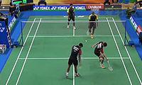 亚历山大/苏巴蒂亚VS桑杰斯/亚达夫 2014印尼大师赛 男双1/16决赛视频