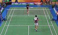 苏巴吉亚VS黄梓良 2014印尼大师赛 男单1/8决赛视频