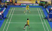 黄晁VS阿里夫 2014印尼大师赛 男单1/8决赛视频