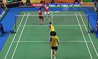 韦拉万/科马拉VS王建国/李明艳 2014印尼大师赛 混双1/4决赛视频