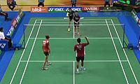 雷扎/玛丽莎VS苏巴蒂亚/维德佳佳 2014印尼大师赛 混双半决赛视频