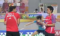 伊拉瓦蒂/玛丽莎VSKittiharak/Rawinda 2014印尼大师赛 女双半决赛视频
