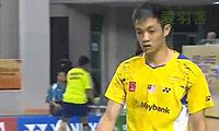普拉诺VS刘国伦 2014印尼大师赛 男单半决赛视频