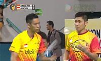 费尔纳迪/基多VS瓦赫尤那亚卡/尤苏夫 2014印尼大师赛 男双半决赛视频
