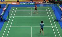 鲁塞莉VS菲比 2014印尼大师赛 女单半决赛视频
