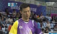 李炫一VS上田拓马 2014亚运会 男团男单1/4决赛视频(1小45分开始)