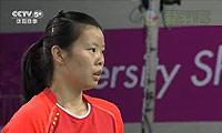 李雪芮VS成池铉 2014亚运会 女团女单决赛视频
