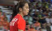 王适娴VS裴延姝 2014亚运会 女团女单决赛视频