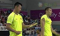 李龙大/柳延星VS徐晨/张楠 2014亚运会 男团男双决赛视频