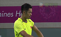 林丹VS李宗伟 2014亚运会 男单半决赛视频