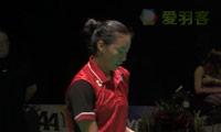 李文珊VS施纳泽 2014比利时公开赛 女单决赛视频