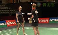 穆斯肯斯/皮克VS奥利弗/L.史密斯 2014荷兰公开赛 女双1/4决赛视频