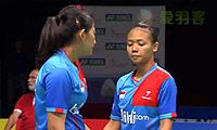 穆斯肯斯/皮克VS哈里斯/伊马万 2014荷兰公开赛 女双半决赛视频