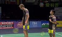 弗蘭/阿格里皮納VS博世/田子杰 2014荷蘭公開賽 男雙半決賽視頻