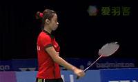 张蓓雯VS菲比 2014荷兰公开赛 女单半决赛视频