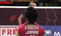 山口茜VS延森 2014丹麦公开赛 女单资格赛视频