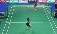 成池铉VS吉尔莫 2014丹麦公开赛 女单1/16决赛视频