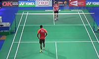 林丹VS周天成 2014丹麦公开赛 男单1/16决赛视频