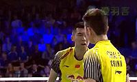 鲍伊/摩根森VS柴飚/洪炜 2014丹麦公开赛 男双1/4决赛视频