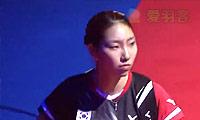 成池铉VS辛德胡 2014丹麦公开赛 女单1/4决赛视频