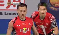 傅海峰/张楠VS高成炫/申白喆 2014丹麦公开赛 男双半决赛视频