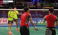 王晓理/于洋VS马晋/唐渊渟 2014丹麦公开赛 女双半决赛视频