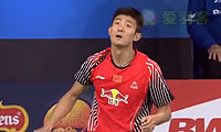 谌龙VS卡什亚普 2014丹麦公开赛 男单半决赛视频