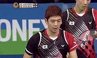 李龙大/柳延星VS鲍伊/摩根森 2014丹麦公开赛 男双半决赛视频