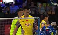 徐晨/马晋VS玛尼蓬/沙西丽 2014丹麦公开赛 混双1/4决赛视频