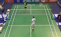 伍家朗VS利弗德斯 2014法国公开赛 男单1/16决赛视频