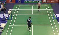 周天成VS约根森 2014法国公开赛 男单1/16决赛视频