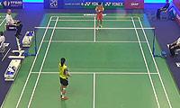 王仪涵VS刘鑫 2014法国公开赛 女单1/8决赛视频