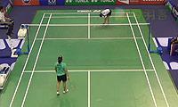 内维尔VS吉尔莫 2014法国公开赛 女单1/8决赛视频