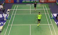 王睁茗VS茨维布勒 2014法国公开赛 男单1/8决赛视频