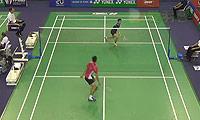 周天成VS伍家朗 2014法国公开赛 男单1/8决赛视频