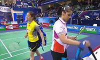 王适娴VS内维尔 2014法国公开赛 女单1/4决赛视频