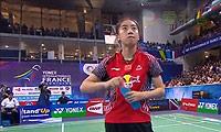 王适娴VS李雪芮 2014法国公开赛 女单决赛视频