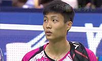周天成VS王睁茗 2014法国公开赛 男单决赛视频