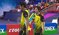 艾哈迈德/纳西尔VS爱德考克/加布里 2014法国公开赛 混双决赛明仕亚洲官网