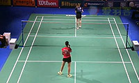 马琳VS杰克斯菲德 2014碧特博格公开赛 女单1/4决赛视频