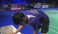 周天成VS埃文斯 2014碧特博格公开赛 男单决赛视频